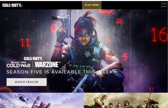 Screenshot showing Warzone And Cold War Season 5 Start Date