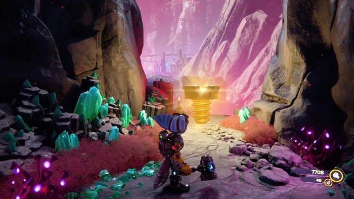 Ratchet and Clank Rift Apart Gold Bolt 13
