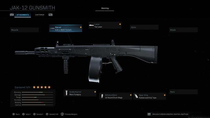 JAK-12 Modern Warfare