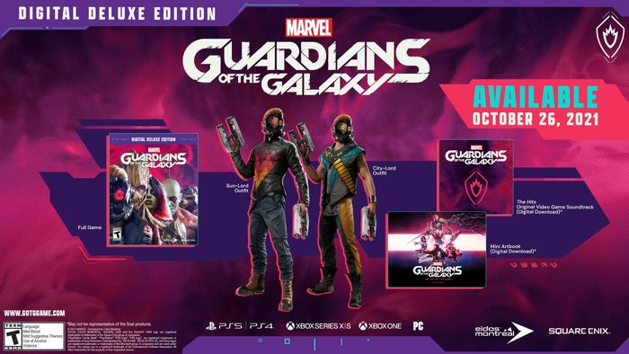 Guardians of the Galaxy Cosmic Delux Edition cover
