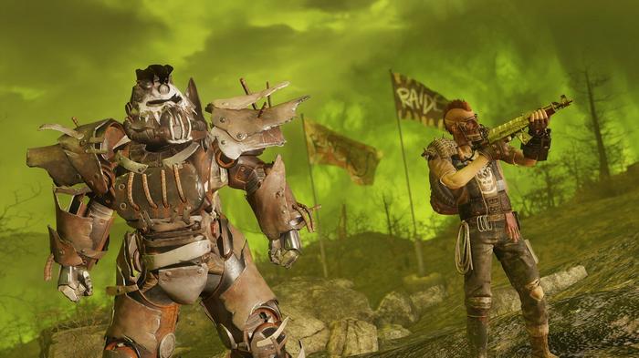 fallout 76 wastelanders power armor
