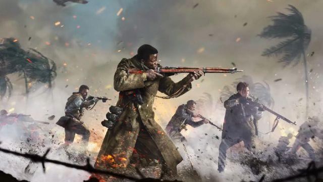 World War 2 Soldiers On A Battlefield