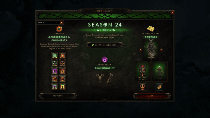 What Rewards are coming in Season 24?