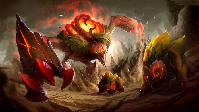 The Red Brambleback from League of Legends