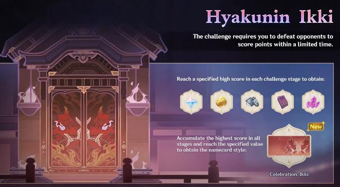 Hyakunin Ikki banner