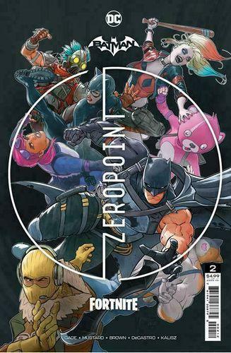 Batman/Fortnite: Zero Point #2 Cover