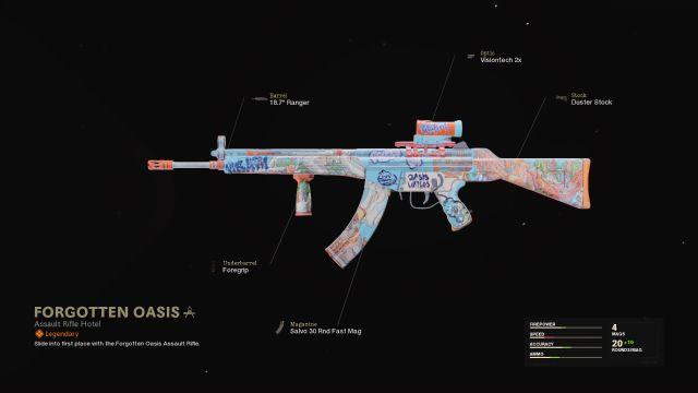 Forgotten Oasis Warzone Blueprint How To Unlock