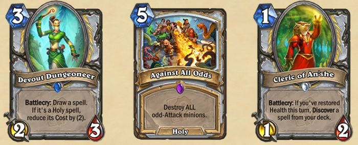 The new Priest cards