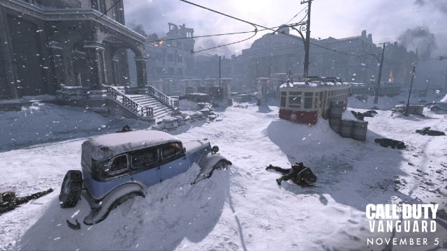 Call of Duty: Vanguard Multiplayer Map Covered In Snow