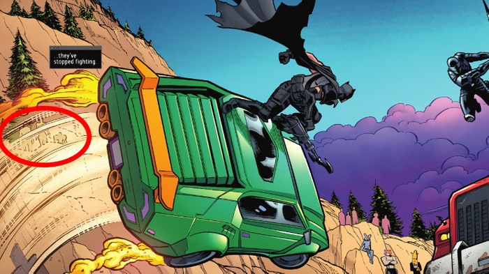 Batman/Fortnite: Zero Point #3 Panel