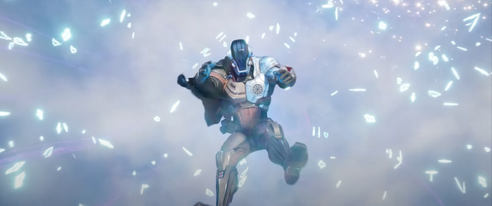 The Foundation is asleep in the Fortnite Season 7 Trailer