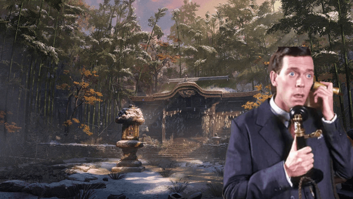 Sekiro Jeeves and Wooster mix