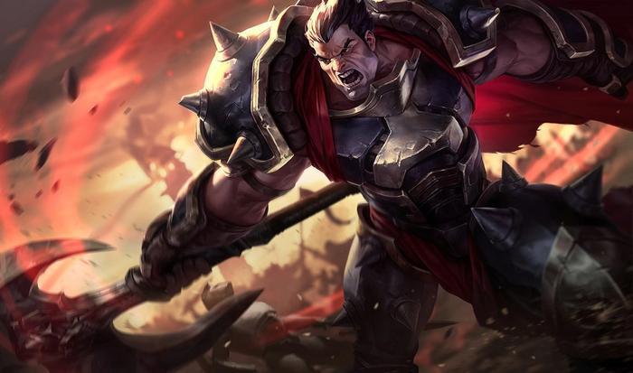 Darius from League of Legends.