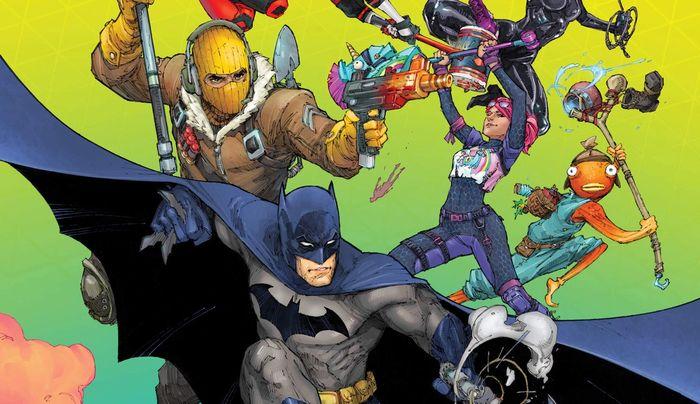 Batman/Fortnite: Zero Point #1 Alternate Cover