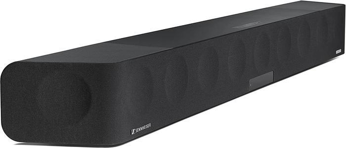 Best soundbar premium Sennheiser, product image of black soundbar