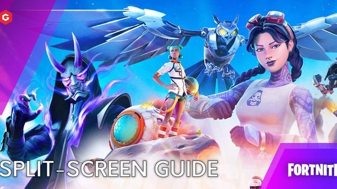 Is Split Screen Disabled On Fortnite Fortnite Chapter 2 Season 7 How To Play Split Screen On Ps4 Xbox One Ps5 Xbox Series X Switch Pc And Mobile