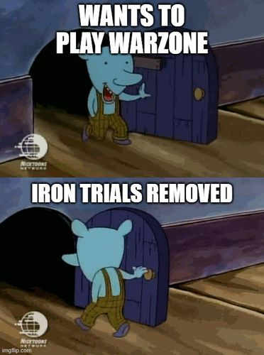 Iron Trials LTM Removed in the latest Call of Duty: Warzone update