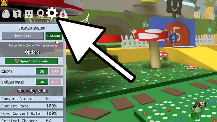 How to redeem codes in Bee Swarm Simulator on Roblox.