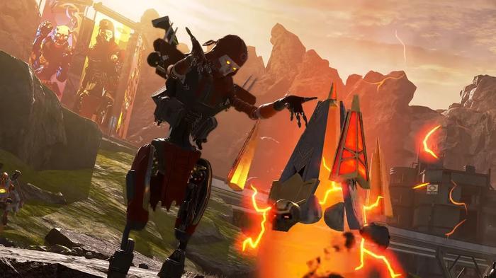 Revenant raises his Totem in Apex Legends