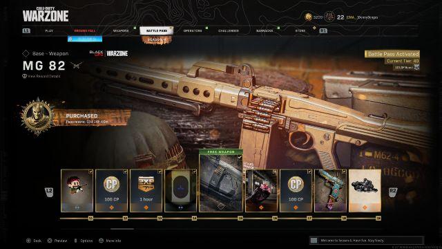 MG 82 Warzone Best Attachments Season 4