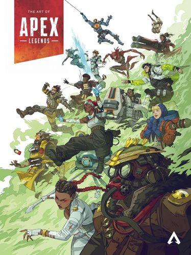 The Art of Apex Legends Cover Art