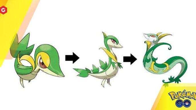 Serperior Pokemon Go