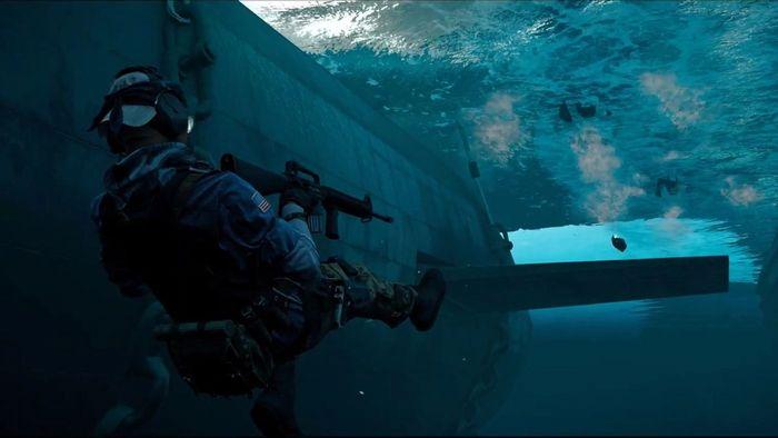 Swimming Warzone
