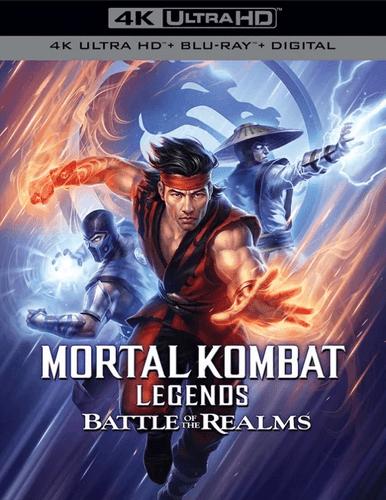 Cover art for Mortal Kombat Legends: Battle of the Realms