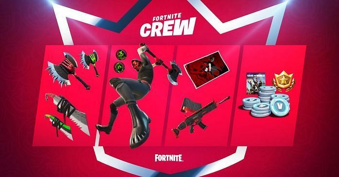 Fortnite Crew May Contents