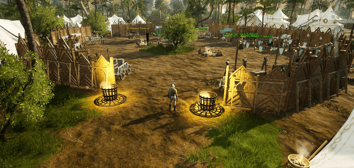 My server's first node was upgraded to an Encampment (rank 2).