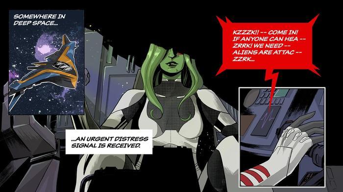 Fortnite Gamora teaser