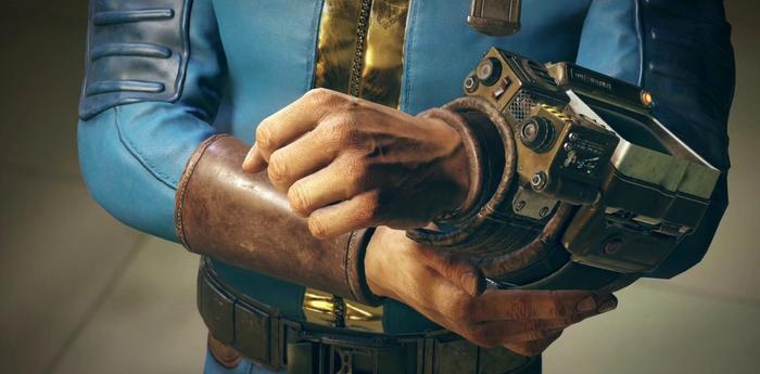 Screenshot of Fallout 76's trailer
