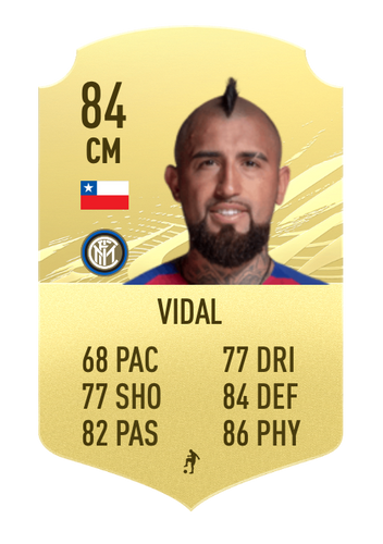 Vidal fifa 22
