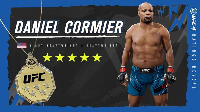 UFC 4 Daniel Cormier 5 star rating update