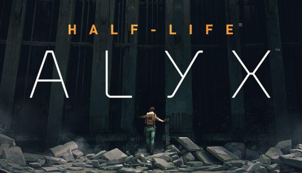 Half Life Alyx Key Art