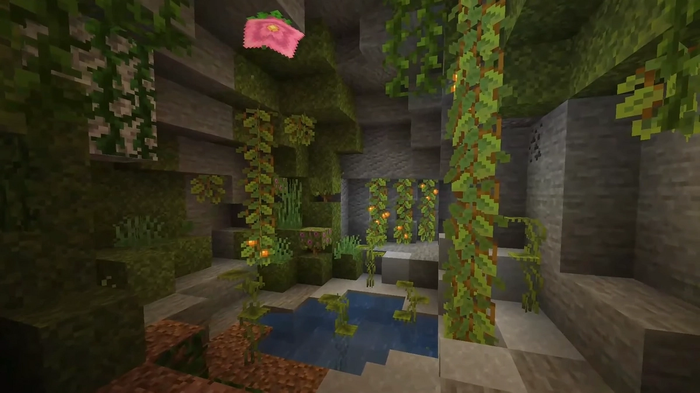 Minecraft Caves and Cliffs Update Cave Biome