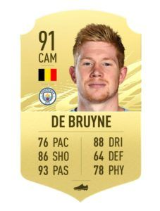 Kevin De Bruyne FIFA 21