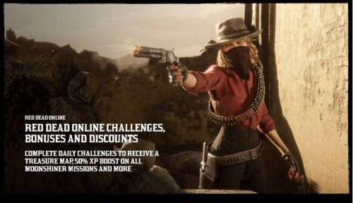 red dead weekly update challenges bonuses discounts