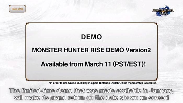 Monster Hunter Rise Demo Version2