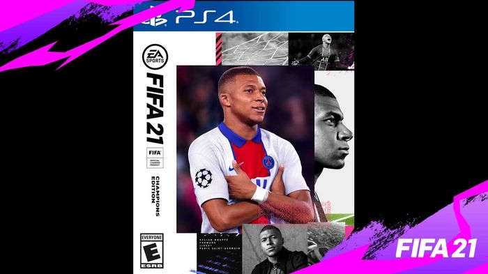 POSTER BOY! Mbappe fronted all three editions of FIFA 21