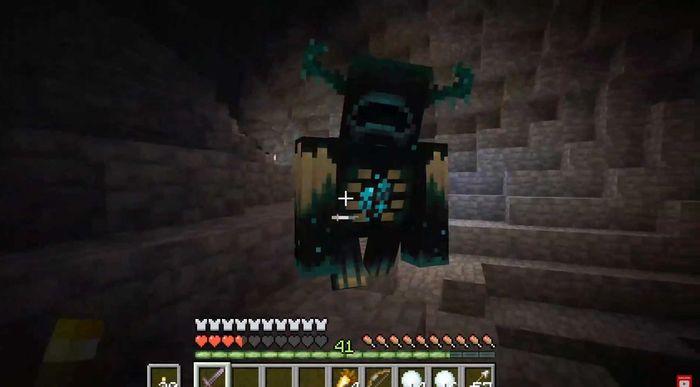 minecraft the warden 2