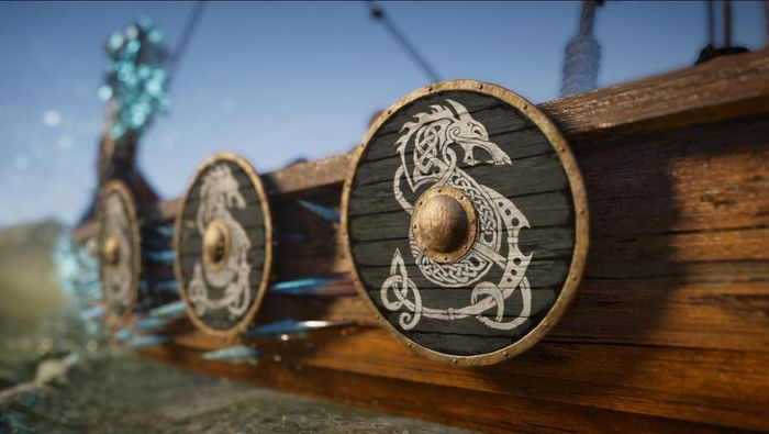 Assassin's Creed Valhalla Wrath of the Druids DLC Longship Shields