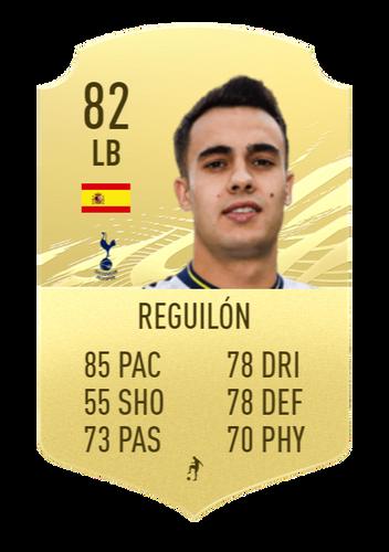 FIFA 22 Sergio Reguilón