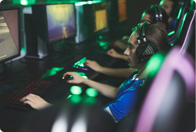 gscience gamers headphones monitors pc