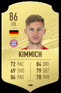 Kimmich fut base card