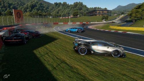 Gran Turismo Sport Crash Bugatti Veyron min
