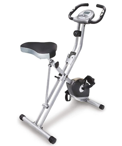 Best Folding Exercise Bike Exerpeutic product image with LCD display
