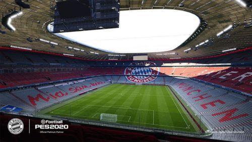 pes 2020 announces bayern munich deal photorealistic allianz arena 3