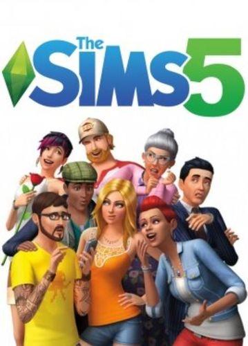 sims 5 cover art fake