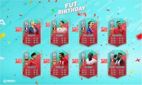 fut birthday fifa 20 team 1 revealed 1